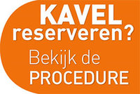 Procedure kavel reserveren